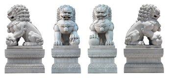 Il coupé del leone di pietra Fotografia Stock Libera da Diritti