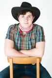 Il cowboy Immagini Stock