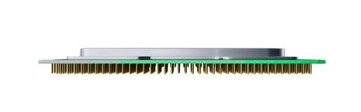 Il CPU 3d di alta risoluzione delle unità di elaborazione del computer centrale rende sul whi Fotografia Stock Libera da Diritti