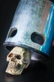 Il cranio è stato schiacciato Fotografie Stock