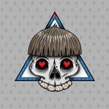 Il cranio Bob Fotografia Stock