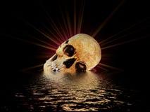 Il cranio II immagini stock