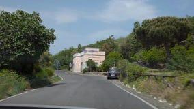 Il cratere di Vesuvio archivi video