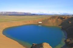 Il cratere di Viti Immagini Stock Libere da Diritti