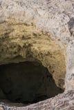 Il cratere domestico del diavolo nel Distretto di Rotorua Fotografia Stock