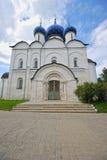 Il Cremlino di Suzdal'con le cupole blu Fotografie Stock