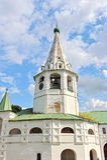 Il Cremlino di Suzdal'nell'ora legale Fotografie Stock Libere da Diritti