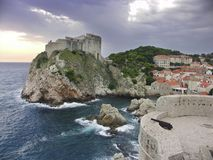 Il Croatia - Dubrovnik Fotografia Stock Libera da Diritti