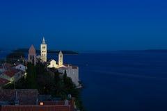 Il Croatia - Rab Fotografia Stock Libera da Diritti