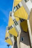 Il cubo alloggia Rotterdam, Paesi Bassi Fotografie Stock Libere da Diritti