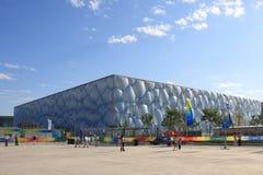Il cubo dell'acqua (centro nazionale di Aquatics) Immagine Stock