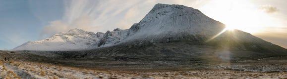 Il Cullin, isola di Skye, Scozia Immagini Stock Libere da Diritti
