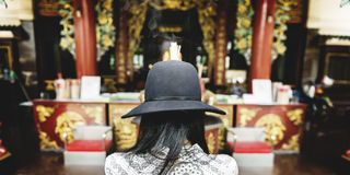 Il culto crede la religione Creed Faith Concept di fede di credenza fotografie stock libere da diritti