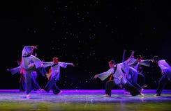 Il culto insegna-$$'al ballo di esorcismo di Nuo-The Fotografia Stock