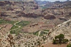 Il cuneo allo Swell di San Rafael dell'Utah Fotografia Stock