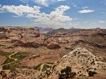 Il cuneo allo Swell di San Rafael dell'Utah Fotografia Stock Libera da Diritti