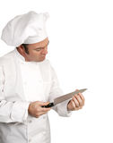 Il cuoco unico collauda la lamierina fotografia stock libera da diritti