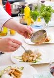 Il cuoco unico decora la zolla immagini stock libere da diritti
