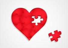 Il cuore Immagini Stock