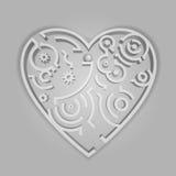 Il cuore Fotografie Stock Libere da Diritti