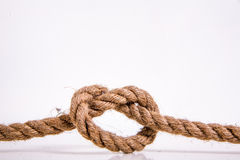 Il cuore della corda Fotografia Stock Libera da Diritti