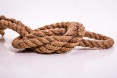 Il cuore della corda Fotografie Stock Libere da Diritti