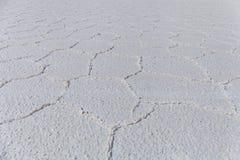 Il cuore della palude d'acqua salata di Salar de Uyuni Fotografie Stock