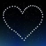 Il cuore delle stelle Fotografia Stock