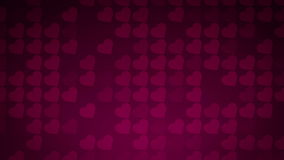Il cuore di amore modella il fondo del mosaico archivi video