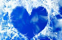 Il cuore di cielo Fotografia Stock Libera da Diritti
