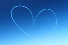 Il cuore nello skye Fotografia Stock Libera da Diritti