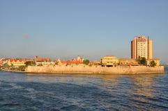 Il Curacao d'avvicinamento Fotografia Stock Libera da Diritti