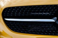 Il cuscino ammortizzatore anteriore automatico dell'automobile del radiatore dei paraurti del paraurti parte il aut di plastica Fotografie Stock Libere da Diritti