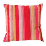 Il cuscino lega il colore rosa Fotografia Stock