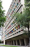 Il d'Habitation di unificazione nella città di FMarseille, Francia Immagini Stock