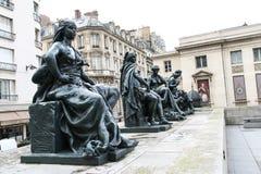 Il d'Orsay的Museo (d'Orsay的Musée) 免版税库存照片