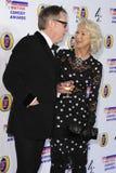 Il Dame Helen Mirren, Vic Reeves Fotografia Stock Libera da Diritti