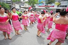Il dancing Fotografia Stock Libera da Diritti