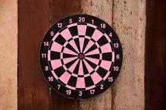 Il Dartboard fotografie stock libere da diritti