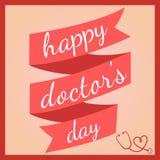 Il Day del dottore felice Illustrazione Vettoriale