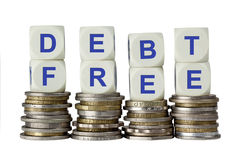 Il debito libera Immagine Stock Libera da Diritti