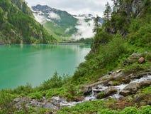 Il dei Cavalli di Lago Alpe del lago Fotografia Stock Libera da Diritti
