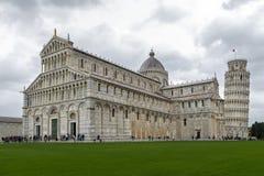 Il dei Miracoli della piazza, conosciuto formalmente come Piazza del Duomo è riconosciuto come centro importante immagine stock libera da diritti