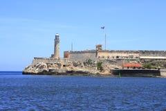 Il del Morro del Castillo de los Tres Reyes Fotografia Stock Libera da Diritti