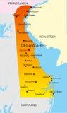 Il Delaware Immagine Stock