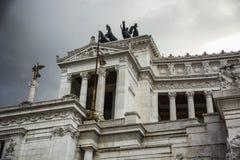 Il della Patria di Altare o di Vittoriano a Roma, Immagine Stock Libera da Diritti