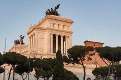 Il della Patria di Altare a Roma, Italia Fotografia Stock
