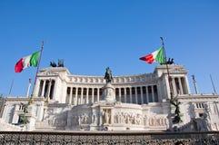 Il della Patria di Altare a Roma. L'Italia. Fotografia Stock