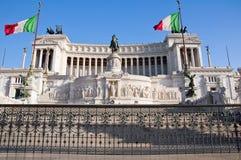 Il della Patria di Altare a Roma. L'Italia. Fotografia Stock Libera da Diritti