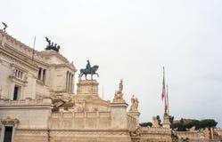 Il della Patria, Roma di Altare Fotografie Stock